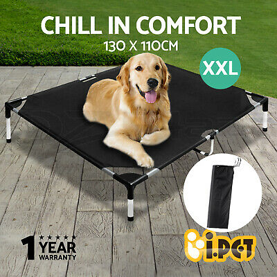 i.Pet Pet Bed Trampoline Dog Cat Puppy Hammock Canvas Extra Large 130X110cm