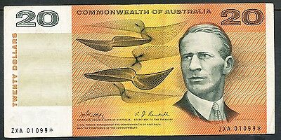 Australia - 1968 20 Dollar. R.403s. Star note. Flattened, F+. CV  $1250