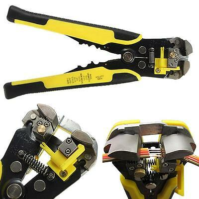 Automatic Wire Cutter Stripper Plier Electrical Cable Crimper Terminal Tools BA