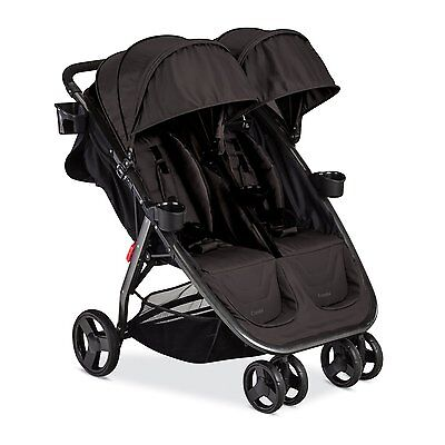 Combi 2016 Fold N Go Double Stroller in Black Brand New!! Free Shipping!!