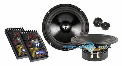 "Cdt Audio Hd-62 6.5"" 2 Way Hd Series Component Car Speakers System"