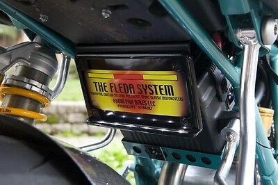 DUCATI SPORT CLASSIC GT1000 TUCKED License plate holder