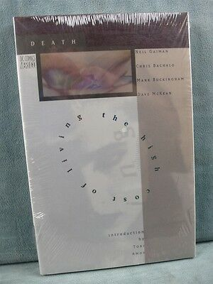 Death: The High Cost of Living by Neil Gaiman SEALED Hardcover Tori Amos Intro
