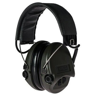 MSA Sordin Supreme Basic Acoustic earmuffs, with AUX input
