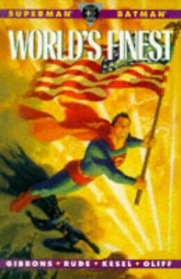 Superman/Batman: World's Finest by Gibbons, Dave Paperback Book The Cheap Fast