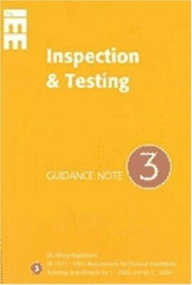 Guidance Note 3 to IEE Wiring Regulations BS7..., Institution of Elect Paperback