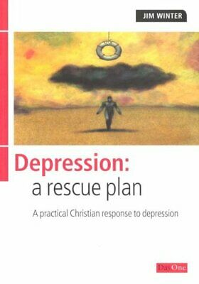 Depression: a rescue plan by Winter, Jim Paperback Book The Cheap Fast Free Post