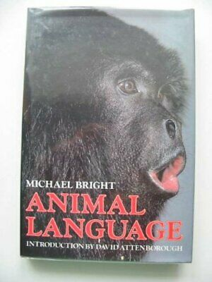 ANIMAL LANGUAGE by Bright, Michael Paperback Book The Cheap Fast Free Post