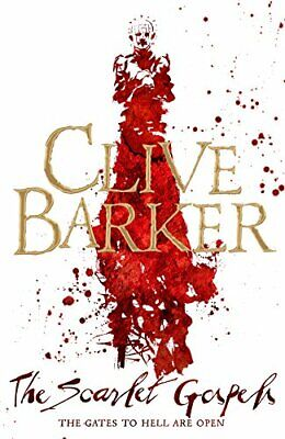 The Scarlet Gospels by Barker, Clive Book The Cheap Fast Free Post