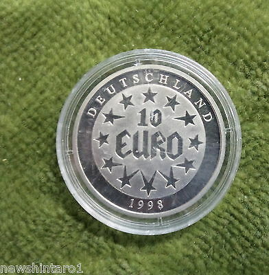 #d271. Germany  10  Euro  1998 Encapsulated  Coin