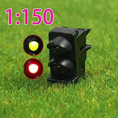 JTD1501GR 5PCS N scale LEDs made Dwarf Signals for Railway signal 2 Aspects
