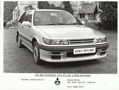 Mitsubishi Colt GTi 16v Photograph 1987 Mint Condition Car & Interior 2 Photos