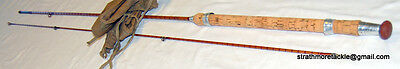 Vintage Fosters of Ashbourne Split Cane Rod The Ideal 7' 2 piece Excellent