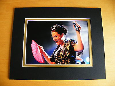 Caro Emerald Rare Hand Signed Autograph 10X8 Photo Mount Liquid Lunch & Coa