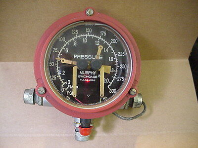new old stock Murphy switch gauge switchgauge 0-300psi OPL-FC-300