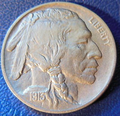 1913 Buffalo Nickel Uncirculated High End Mint State MS Type One US Coin #9890
