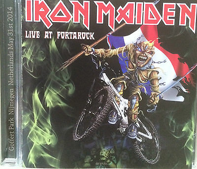 "Iron Maiden ""live At Fortarock"" Rare Double Cd Live !"