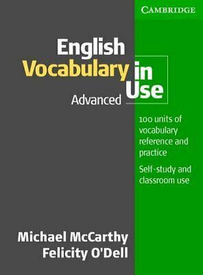 English Vocabulary in Use Advanced by O'Dell, Felicity Paperback Book The Cheap
