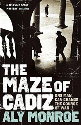 The Maze of Cadiz (Peter Cotton) by Monroe, Aly Paperback Book