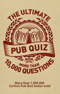 The Ultimate Pub Quiz Book: More Than 10,000 Questions! by Roy Preston Book The