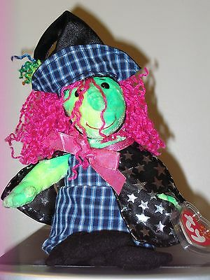Ty Beanie Baby ~ SCARY the Witch ~ MINT with MINT TAGS ~ RETIRED