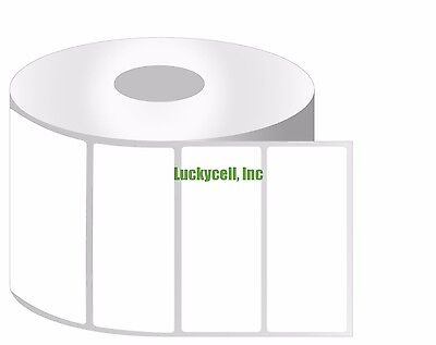 6 Rolls 3x1 Direct Thermal Shipping Labels 1375/Roll Zebra Eltron LP2844 ZP450