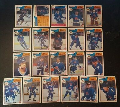 1983-84 OPC QUEBEC NORDIQUES Select from LIST NHL HOCKEY CARDS O-PEE-CHEE