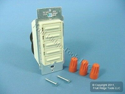 Leviton Almond Scene Select 4-Step Light Dimmer Switch 6161-A