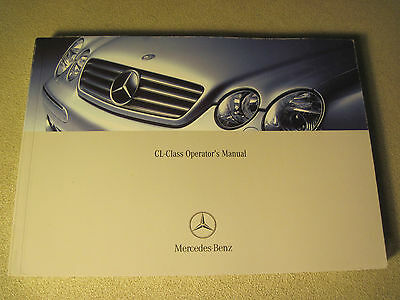 """2003 Mercedes Cl500 Cl600 Cl55Amg Owners Manual Buy Oem """"free U.s. Shipping"""""""