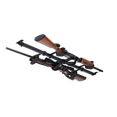 Big Sky SBR-2G Skybar 2-Gun Telescoping Vehicle/Truck Mount Rack, Black Finish