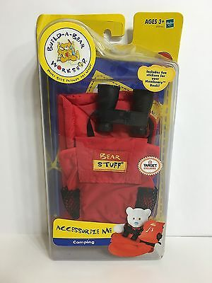 Build A Bear Camping Set Outfit 2004 Target Exclusive New Binoculars Clothes