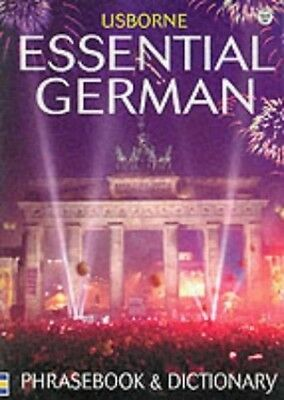 Essential German Phrasebook and Dictionary (Usborne ..., Needham, Kate Paperback