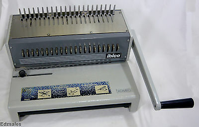 Ibico Kombo Commercial Heavy Duty Plastic Comb Punch Binding Machine