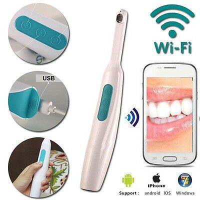 Dental Interoral HD Wireless WiFi Oral camera Cam 1MP Recorder for Android iOS I