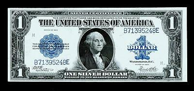 1923 Large Size Silver Certificate $1  ~~ About Uncirculated~
