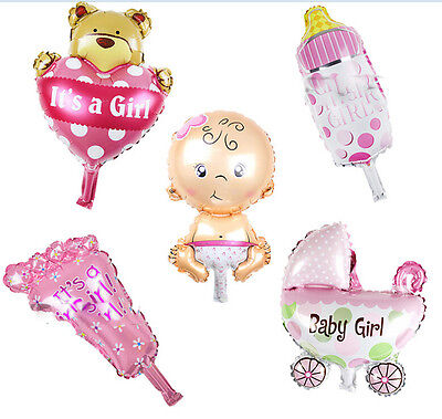 Baby Shower Foil Christening Balloons Decoration Kids Party Supply Gift Choose
