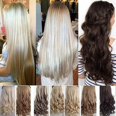 EXTENSIONS DE CHEVEUX A CLIPS Synthétique HAIR 43/58/60/66/68/73/76cm 140g Piece