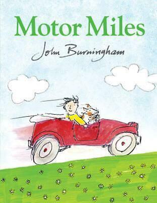 Motor Miles by John Burningham (English) Hardcover Book Free Shipping!