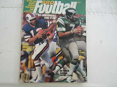 1981 Street And Smiths American Pro Football  Official Year Book