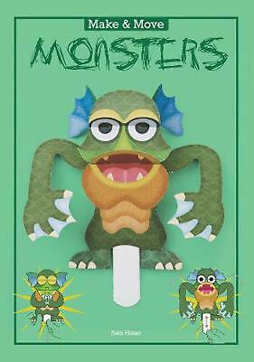 Make & Move: Monsters: 12 Paper Puppets to Press Out and Play by Sato Hisao (Eng