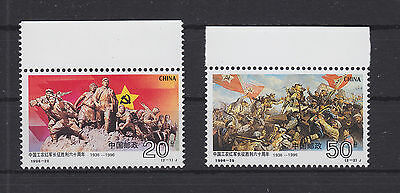 China VR 2772-2773 ** postfrisch, Rote Armee, MNH -RA424