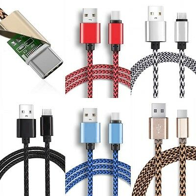USB-A to USB-C Type-C Data Sync Charger Charging Cable For Samsung Note7/S8 Huaw