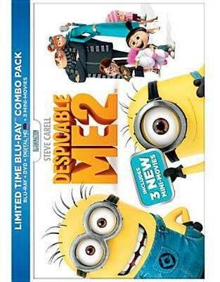 Despicable Me 2 - BLU-RAY/DVD COMBO Region 1 Free Shipping!
