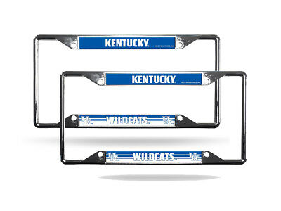 PURDUE BOILERMAKERS NCAA Chrome (2) EZ View License Plate Frame Set ...