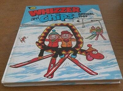 Whizzer And Chips Annual, 1989