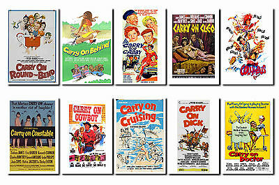 Carry On Films - Film Poster Postcard Set # 1