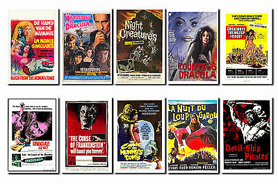 Hammer - Horror Film Poster Postcard Set # 1