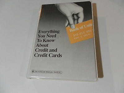 Everything You Need to Know About Credit and Credit Cards audio cassettes, book