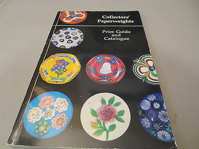 Collectors' Paperweights Price Guide and Catalogue vintage 1979 paperback