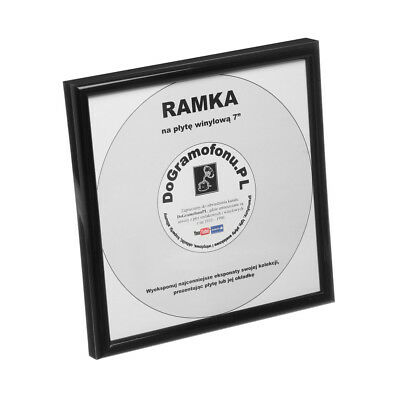 "Your Gramophone - 7"" Record Frame Black"
